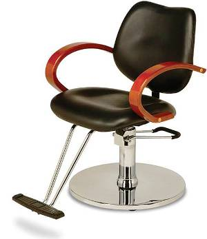Veeco - Reese Hydraulic Styling Chair (Black Only)