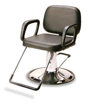 Veeco - Sassi Hydraulic Styling Chair (Black Only)