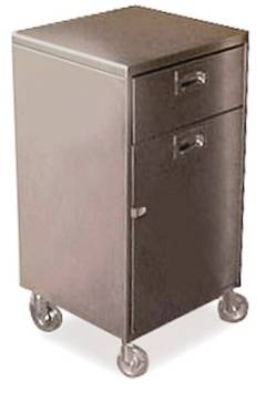 Veeco - Stainless Steel Mobile Storage Cabinet