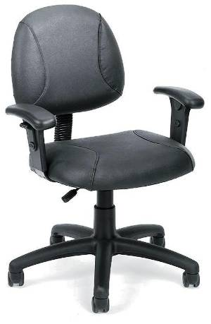 Veeco - Task Chair w/ Adjustable Arms (Black Only)