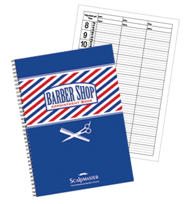 Samson - 3 Column Barber Appointment Book