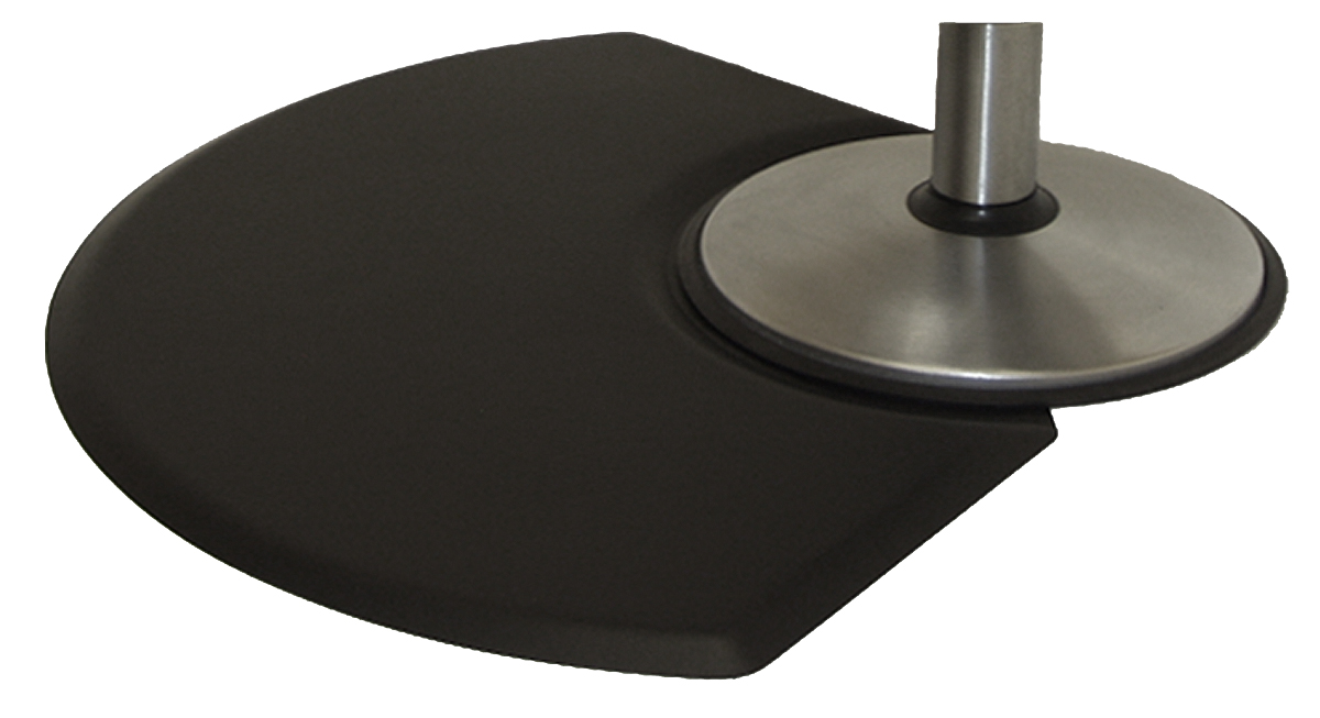 Therapeutic Anti-Fatigue Mats - Classic Series Quarter Round 3' x 4.5' Mat