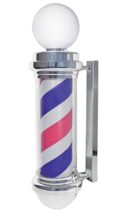 Samson - Barber Pole Light-Up Revolving Pole