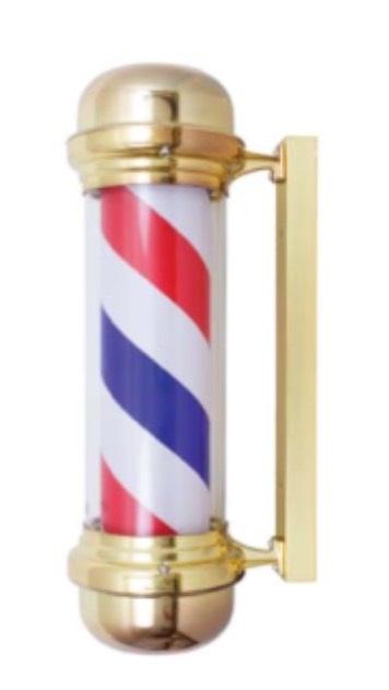"Samson - Barber Pole Gold 9"" x 28"""