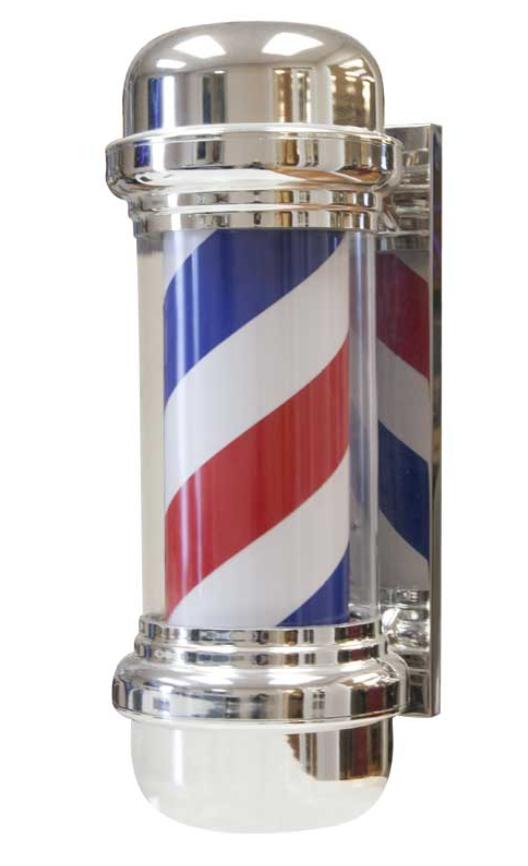 Jeffco - Barber Pole with Light