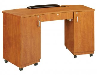 Kaemark - Imperial Non Vented Double Storage Nail Table IM-275