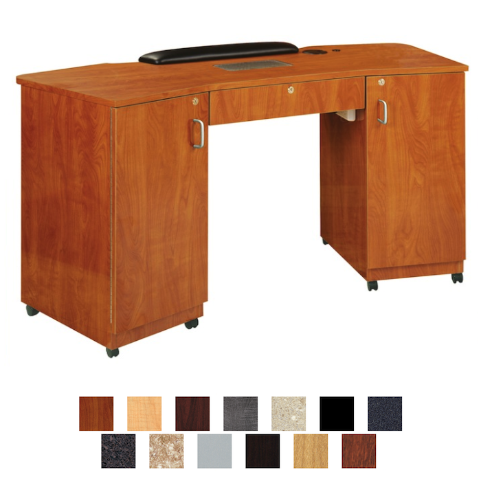 Kaemark - Imperial Vented Double Storage Nail Table IM-295