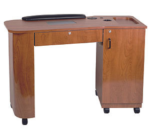 Kaemark - Imperial Vented Single Storage Nail Table IM-91