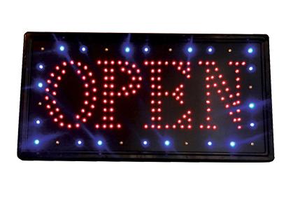 """Samson - LED """"OPEN"""" Sign"""