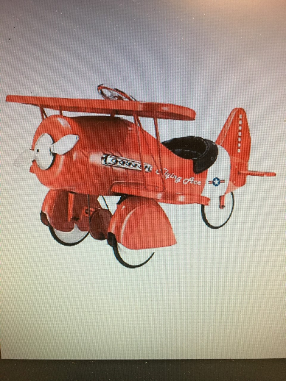 Pibbs - Airplane Kid's Hydraulic Chair