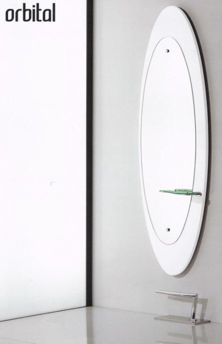 Salon Ambience - Orbital Station with Glass Shelf