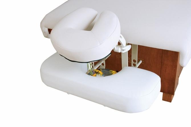 Oakworks - Lowered Arm Rest Shelf w/ Aromatherapy