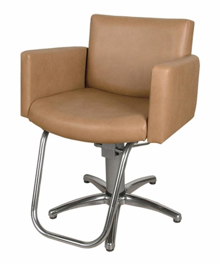 Collins - All Purpose Cigno Hydraulic Styling Chair w/ MAC Line 5 Star Base