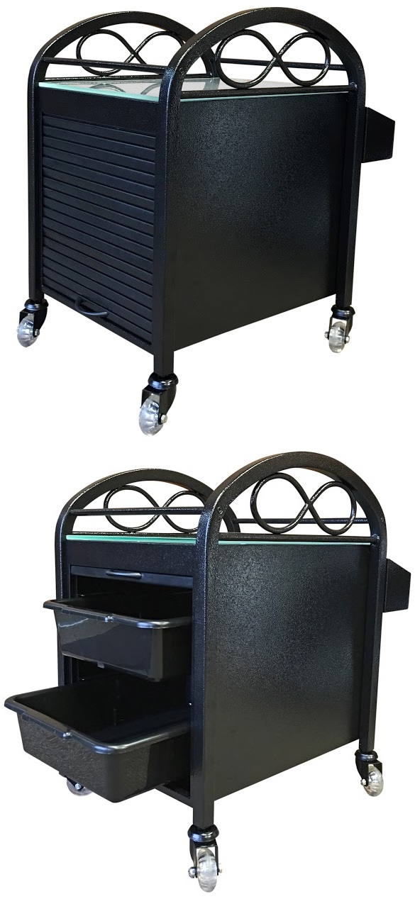 Continuum Footspas - Accessory Cart
