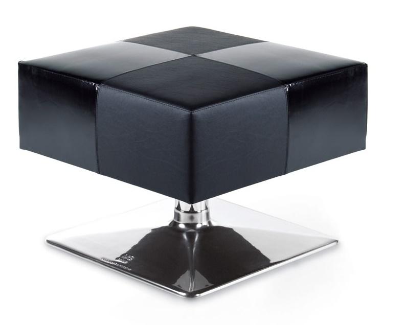 Design by Porsche - Black Pouff Seat