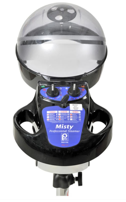 Pibbs - Misty Hair Steamer with Casters