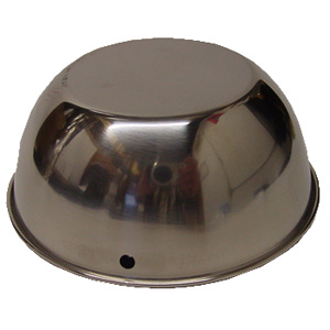 William Marvy - Barber Pole Stainless Steel Domes (Tops)