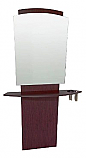 Belvedere - Pacific Mirror Panel & Angled Curved Shelf with Tool Holders