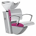 Salon Ambience - Nexia Comfortwash Grey Frame - White Bowl