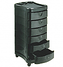Pibbs - Salon Evolution Zorro Utility Tray - Black Only