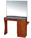 Kaemark - A La Carte Single Styling Station - Rectangular Mirror LC-205A