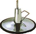 """Pibbs - Italian 27"""" Round Hydraulic Base"""