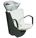 Salon Ambience - Katia Comfortwash Grey Frame - White Bowl