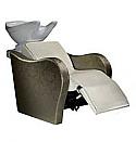 Salon Ambience - Lux Wash Unit - White Bowl