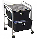 Pibbs - 2-Drawer Cart Metal Frame