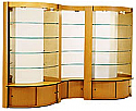 Belvedere - Array 3 Curved Displays 84""