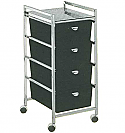 Pibbs - 4-Drawer Cart Metal Frame
