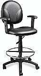 Veeco - CS Make Up Chair w/ Adjustable Armrests (Black Only)