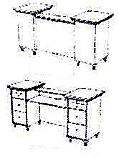 Takara Belmont - Koken Millennia Classic Reception Desk
