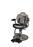 Belvedere - Seville Barber Chair with Chrome Frame