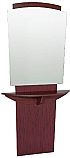 Belvedere - Pacific Mirror Panel & Angled Curved Shelf