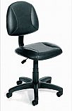 Veeco - Client/Technician Chair w/ Built-in Lumbar Support (Black Only)