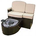 Belvedere - Capri Single Pedicure Unit