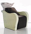 Salon Ambience - Air-Lux Wash Unit with Air Massage - White Bowl