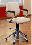 Belvedere - Welonda Violet Chair w/ Wood Armrests