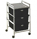 Pibbs - 3-Drawer Cart Metal Frame
