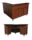 Collins - Bradford L-Shaped Reception Desk