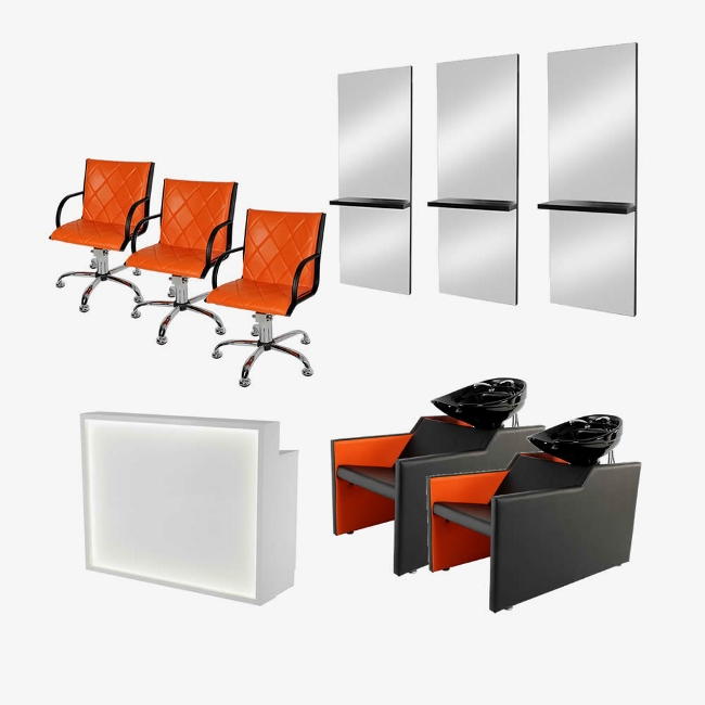 Shop by category for Hairdressing furniture packages
